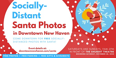 Socially-Distant Santa Photos in Downtown NHV tickets