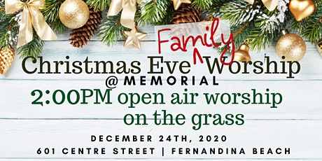 2:00PM Christmas Eve Worship (Outdoor) tickets
