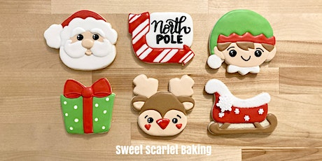 Christmas3 Adult Beginner Cookie Decorating Class