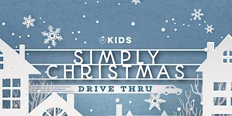 "CF Kids ""Simply Christmas"" Drive Thru tickets"