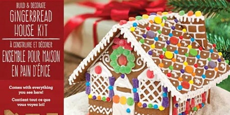 Holiday Gingerbread House - Build & Decorate your own Gingerbread House tickets