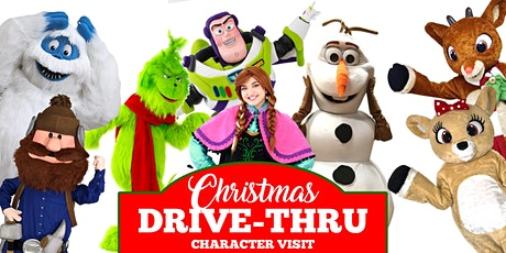 Christmas Drive Thru Character Visit tickets