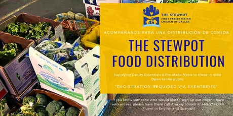 Stewpot Food Distribution/ Dispensa de Comida - December 4, 2020 boletos