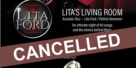 CANCELLED: LITA's LIVING ROOM - ACOUSTIC DUO tickets
