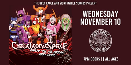 POSTPONED:  The Cybertronic Spree tickets