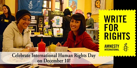 Write 4 Rights Amnesty Lethbridge - ONLINE and IN-PERSON* (free event) tickets