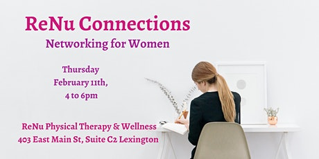 ReNu Connections- Networking for Women tickets
