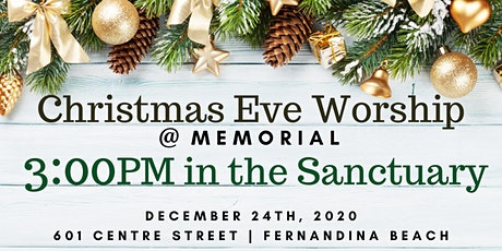 3:00PM Christmas Eve Worship (Sanctuary) tickets