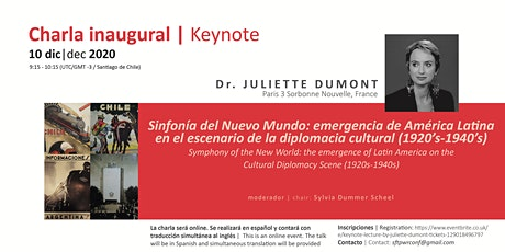Keynote lecture by Juliette Dumont tickets