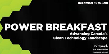 Power Breakfast: Advancing Canada's Clean Technology Landscape tickets