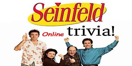 Seinfeld Trivia (live host) via Zoom (EB) tickets