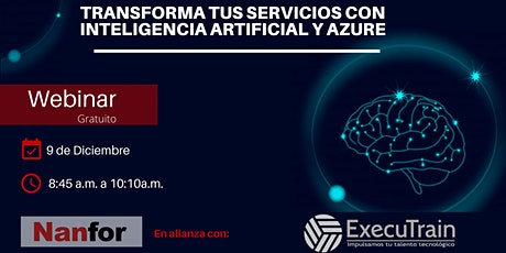 Transforma tus servicios con Inteligencia Artificial y Azure boletos