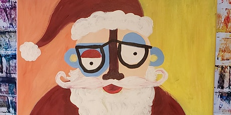 Family Paint Picasso Santa  $25pp tickets