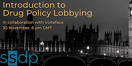 Introduction to Drug Policy Lobbying: An Interactive Workshop tickets