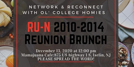 Network & Reconnect w/ RU-N tickets