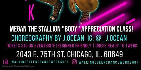"Megan Thee Stallion ""Body"" Appreciation Twerk/Hiphop Dance Class (Beginner) tickets"