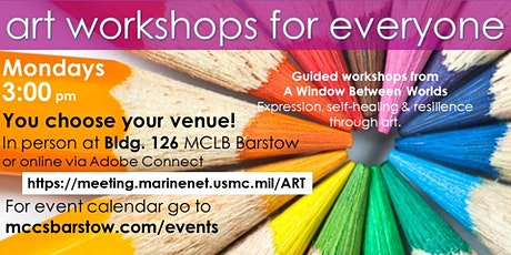 Art for Everyone!   MCLB Barstow tickets