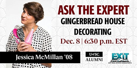 Ask the Expert: Gingerbread House Decorating tickets