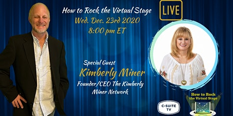 How To Rock The Virtual Stage Show with Kimberly Miner tickets