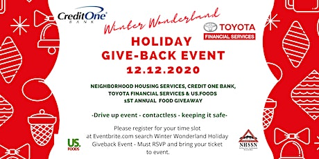 Winter Wonderland Holiday Give Back Event! tickets