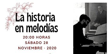 La historia en melodías, con Javier Sosa, David Batista y Carol Sosa tickets