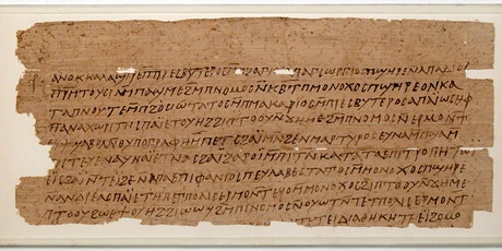 Introduction to Reading Coptic: Documentary Texts (10 Weeks Zoom/Recorded) tickets