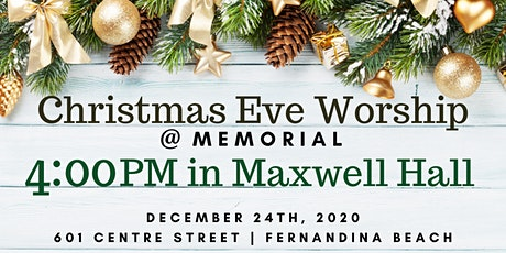 4:00PM Christmas Eve Worship (Maxwell Hall) tickets