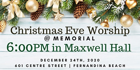 6:00PM Christmas Eve Worship (Maxwell Hall) tickets