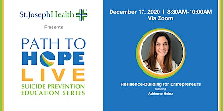 Path to Hope Live - December 17th with Adrienne Heinz tickets