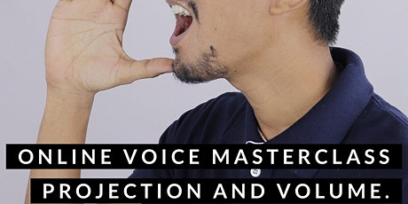 Projecting Your Singing Voice: Power, Volume and Resonance tickets