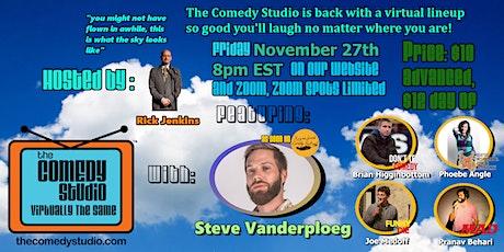 The Comedy Studio: Virtually The Same FRIDAY