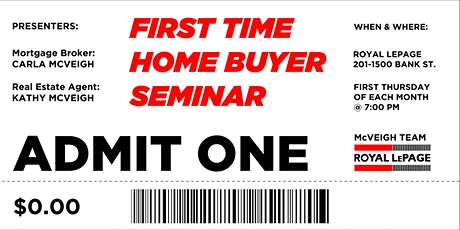 First Time Home Buyer Seminar Ottawa • Free billets