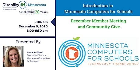 Disability:IN Minnesota's December Member Meeting and Community Give tickets