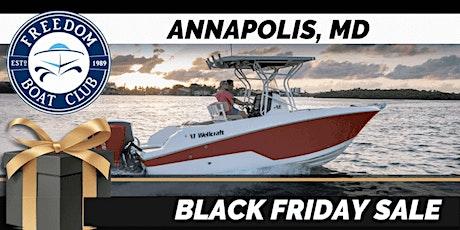 Freedom Boat Club of Maryland   VIRTUAL Black Friday Sale! tickets