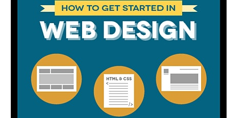 How to Get Started in Web Design (Live Online) tickets