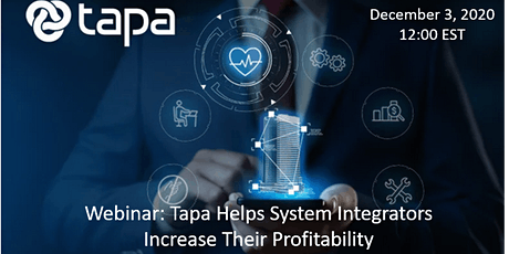 Add Tapa's Solutions  and Increase Your Profitablity tickets