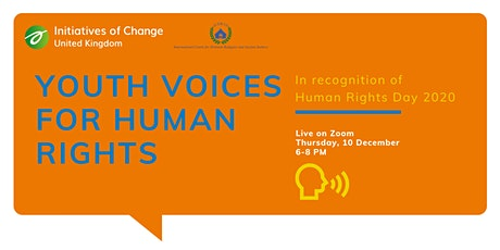 Youth Voices for Human Rights tickets