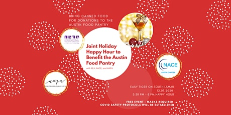 ILEA, NACE & AWPA: Joint Holiday Happy Hour - benefiting Austin Food Pantry tickets