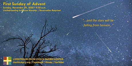 First Sunday of Advent - Nov. 29, 2020 tickets