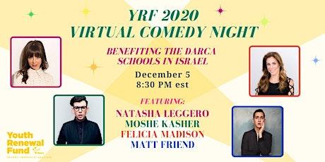 Youth Renewal Fund Virtual Comedy Night tickets