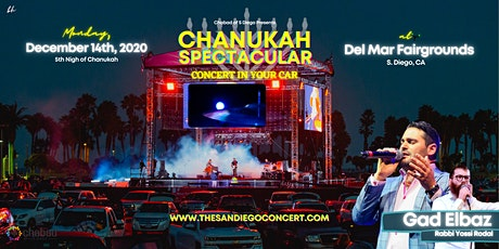 CHANUKAH SPECTACULAR featuring Israeli Pop Star Gad Elbaz tickets