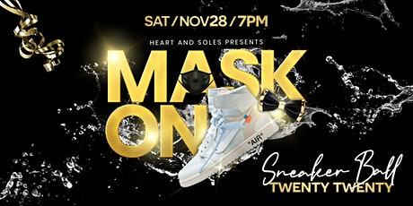 MASK ON: Heart and Soles Sneaker Ball 2020 entradas