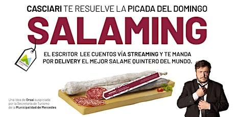 HERNÁN CASCIARI: «SALAMING» DOM 29 NOV — Streaming con Salame Mercedino ingressos