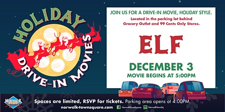 Norwalk Town Square Holiday Drive-In Movie - ELF tickets