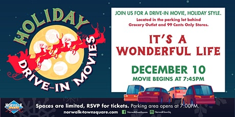 Norwalk Town Square Holiday Drive-In Movie - It's a Wonderful Life tickets