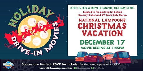 Norwalk Town Square Holiday Drive-In - National Lampoons Christmas Vacation tickets