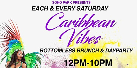 SATURDAY CARIBBEAN BOOZY BRUNCH - SOHO PARK #TIMESSQUARE tickets