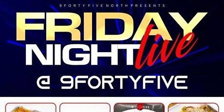 Pop Up Fridays tickets