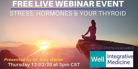 LIVE WEBINAR EVENT: Stress, Hormones & Your Thyroid tickets