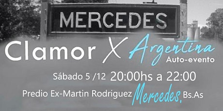 Clamor X Argentina entradas